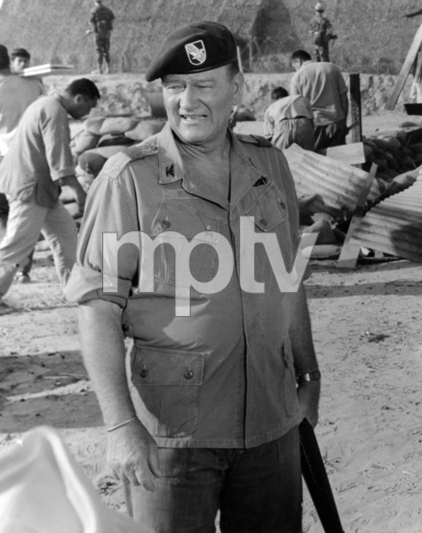 """The Green Berets""John Wayne1968 Warner Bros.** B.D.M. - Image 24293_0849"