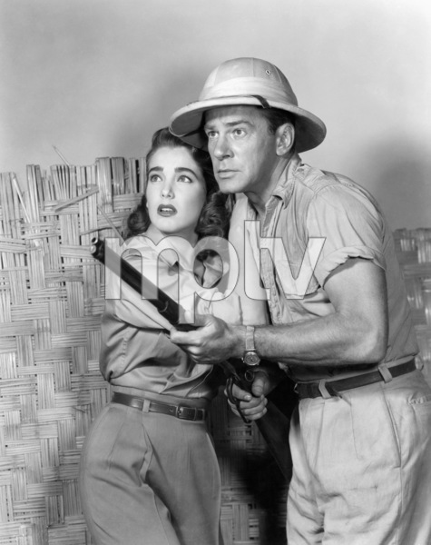 """Creature from the Black Lagoon""Julie Adams, Richard Carlson1954 Universal** B.D.M. - Image 24293_0922"