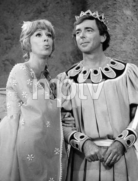 """Carol Burnett and Ken Berry in """"Once Upon a Mattress""""1972** B.D.M. - Image 24293_0979"""