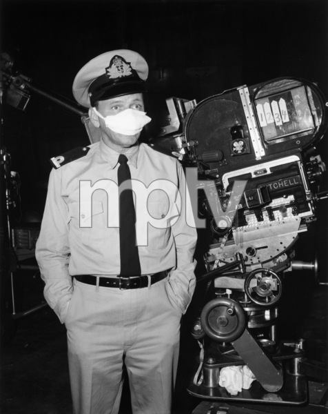 "Frank Sinatra on the set of ""Assault on a Queen""1966 Paramount** B.D.M. - Image 24293_1078"