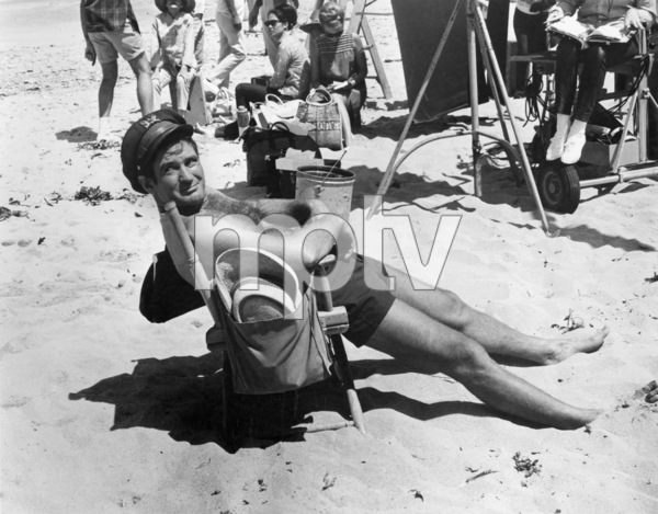 """Rod Taylor on the set of """"The Hell with Heroes""""1968 Universal** B.D.M. - Image 24293_1106"""