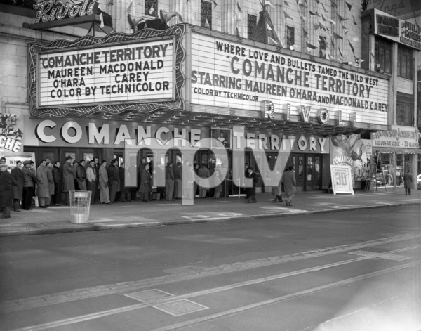 Marquee of the Rivoli theatre in New York1951** B.D.M. - Image 24293_1294