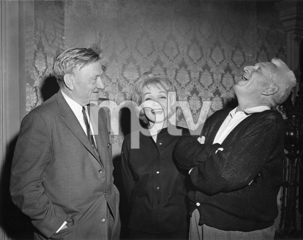 """Marlene Dietrich and Spencer Tracy on the set of """"Judgment at Nuremberg""""1961 United Artists** B.D.M. - Image 24293_1451"""