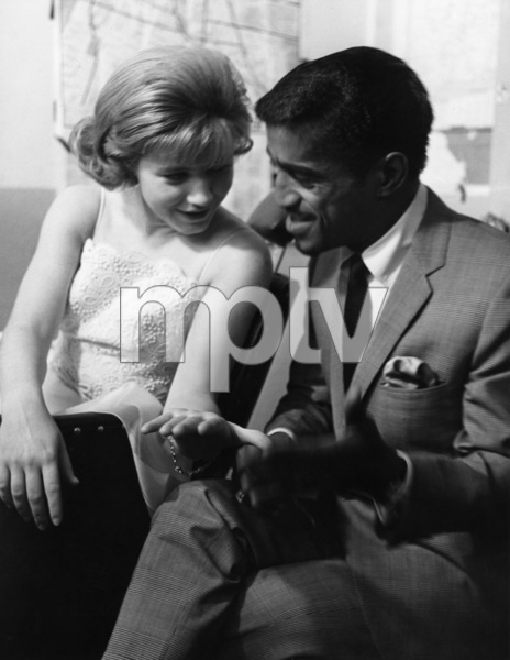 Patty Duke and Sammy Davis, Jr  in