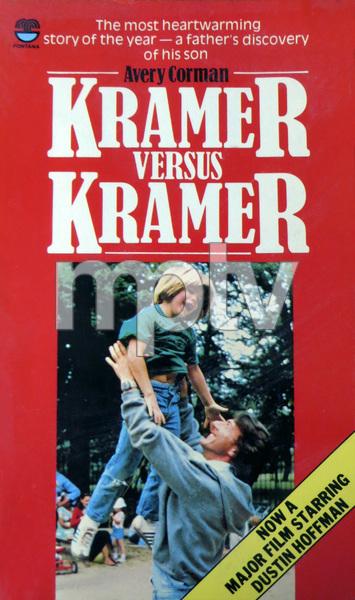 """Kramer vs. Kramer"" (book cover)Dustin Hoffman, Justin Henrycirca 1980** B.D.M. - Image 24293_1923"