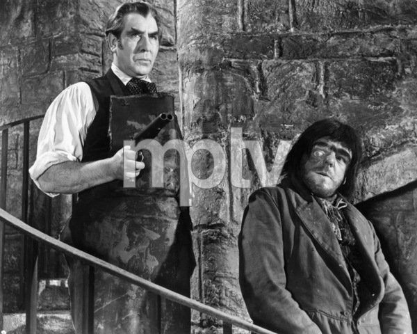 """Donald Wolfit and Victor Maddern in """"Blood of  the Vampire""""1958 Universal** B.D.M. - Image 24293_2074"""