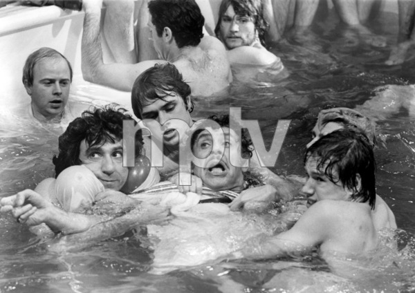 """F. Murray Abraham, John Everson, Jerry Stiller, Treat Williams and Christopher J. Brown in """"The Ritz""""1976 Warner Bros.** B.D.M. - Image 24293_2215"""