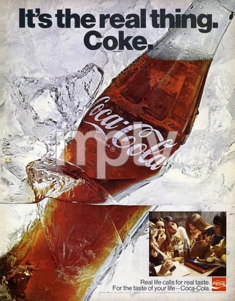 Coca-Cola print ad1970** B.D.M. - Image 24293_2504