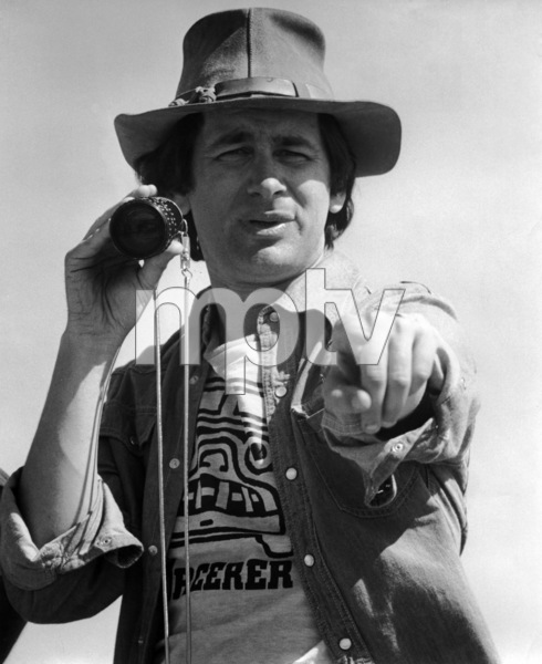 "Director Steven Spielberg on the set of ""Close Encounters of the Third Kind""1977 Columbia** B.D.M. - Image 24293_2518"