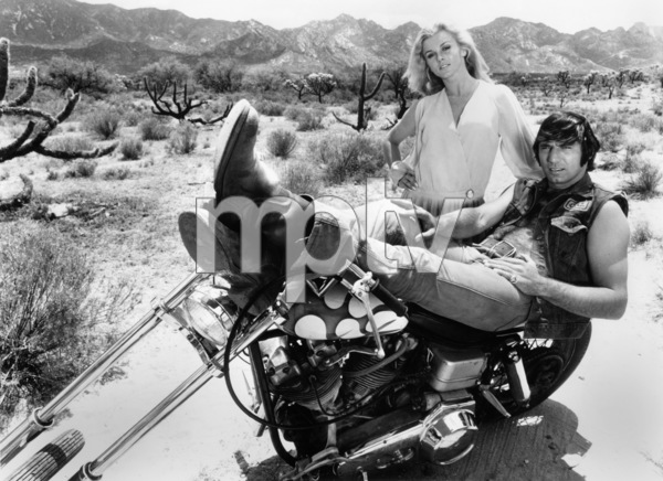 """Ann-Margret and Joe Namath in """"C.C. & Company""""1970 AVCO Embassy Pictures** B.D.M. - Image 24293_2539"""