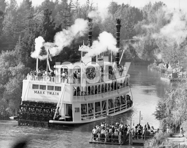 The Mark Twain Riverboat in Disneylandcirca 1975** B.D.M. - Image 24293_2553