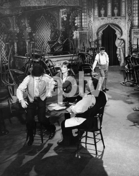 """Frank Faylen, Barbra Streisand and Lee Allen in """"Funny Girl""""1968 Columbia** B.D.M. - Image 24293_2626"""