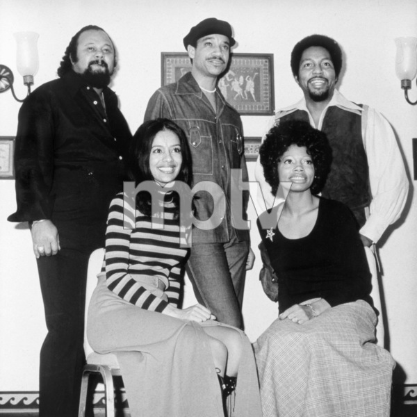 The 5th Dimension (Ronald Townson, Lamonte McLemore, Billy Davis, Jr., Marilyn and Florence LaRue)circa 1970** B.D.M. - Image 24293_2646