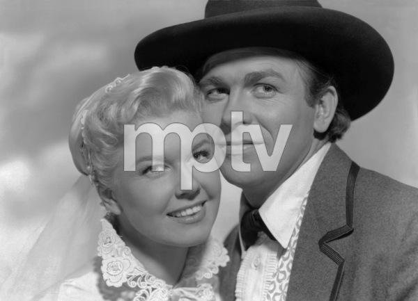 """Doris Day and Howard Keel in """"Calamity Jane""""1953 Warner Bros.** B.D.M. - Image 24293_2880"""