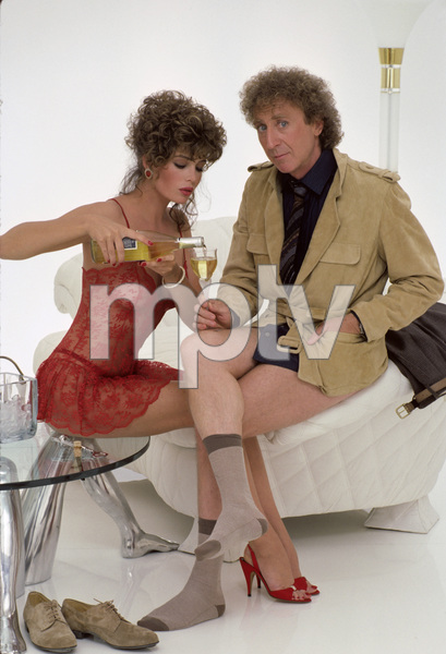 Kelly LeBrock and Gene Wilder1984© 1984 Mario Casilli - Image 24297_0006