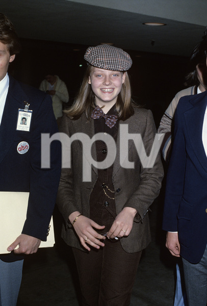 """Jodie Foster at """"The 50th Annual Academy Awards"""" rehearsalsApril 2, 1978© 1978 Gary Lewis - Image 24300_0058"""