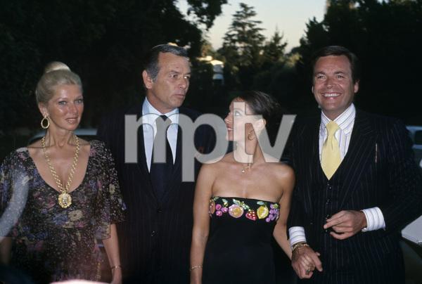 Dani Crayne, David Janssen, Natalie Wood and Robert Wagnercirca late 1970s© 1978 Gary Lewis - Image 24300_0095