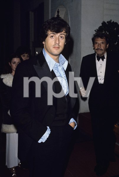 """The 49th Annual Academy Awards""Sylvester StalloneMarch 28, 1977© 1977 Gary Lewis - Image 24300_0111"