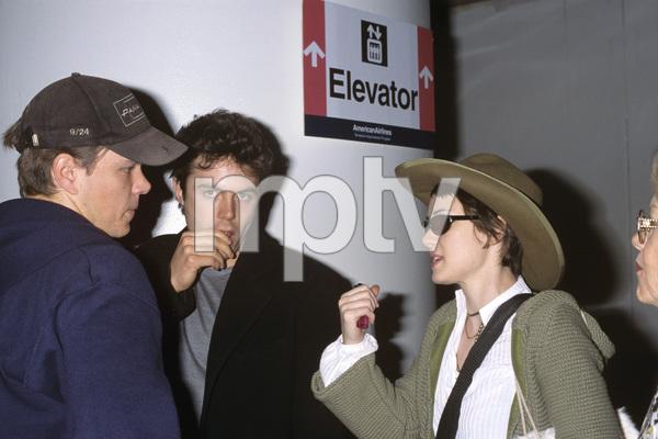 Matt Damon, Casey Affleck and Winona Rydercirca 1990s© 1990 Gary Lewis - Image 24300_0131