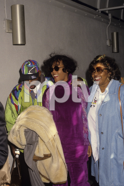 Bobby Brown, Whitney Houston and Cissy Houstoncirca 1992© 1992 Gary Lewis - Image 24300_0160
