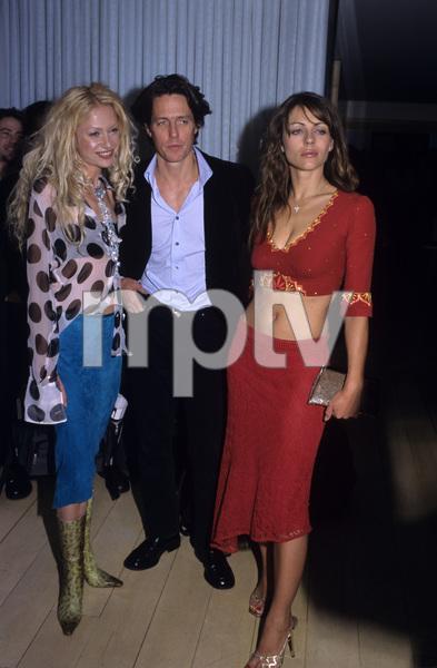 Portia de Rossi, Hugh Grant and Elizabeth Hurleycirca 1990© 1990 Gary Lewis - Image 24300_0166