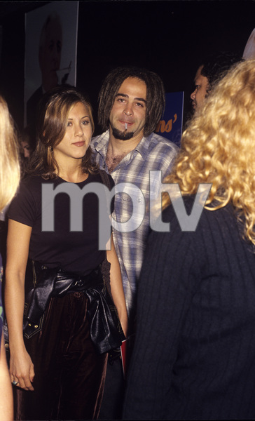 Jennifer Aniston and Adam Duritzcirca 1995© 1995 Gary Lewis - Image 24300_0191