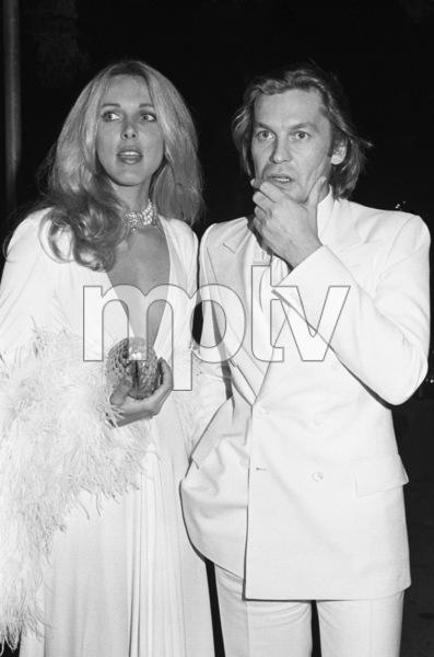 Alana Stewart and Helmut Bergercirca 1979© 1979 Gary Lewis - Image 24300_0203