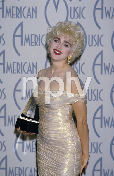 """""""The 14th Annual American Music Awards""""Madonna1987© 1987 Gary Lewis - Image 24300_0205"""