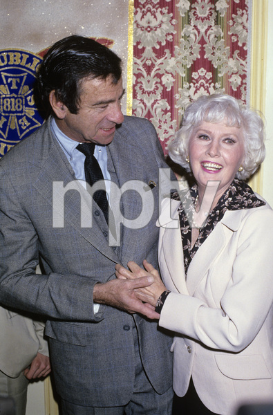 """""""The 15th Annual Publicists Guild Awards""""Walter Matthau and Barbara Stanwyck1978© 1978 Gary Lewis - Image 24300_0337"""