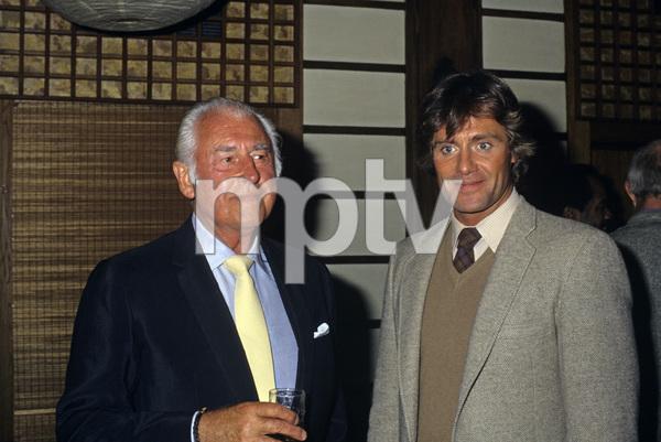 Stewart Granger and Duncan Regehrcirca 1980© 1980 Gary Lewis - Image 24300_0353