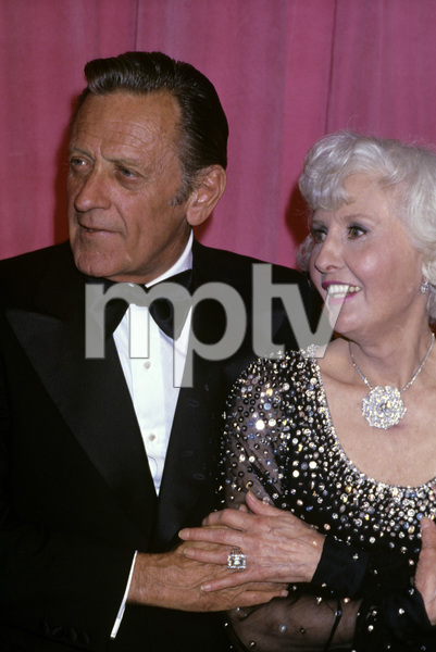 """The 50th Annual Academy Awards""William Holden, Barbara StanwyckApril 3, 1978© 1978 Gary Lewis - Image 24300_0394"