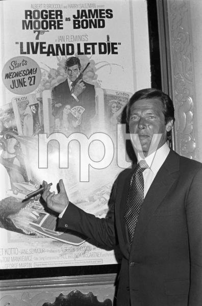 Roger Moorecirca 1973© 1978 Gary Lewis - Image 24300_0411