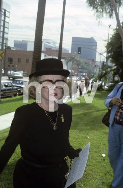 Bette Daviscirca 1982© 1982 Gary Lewis - Image 24300_0438