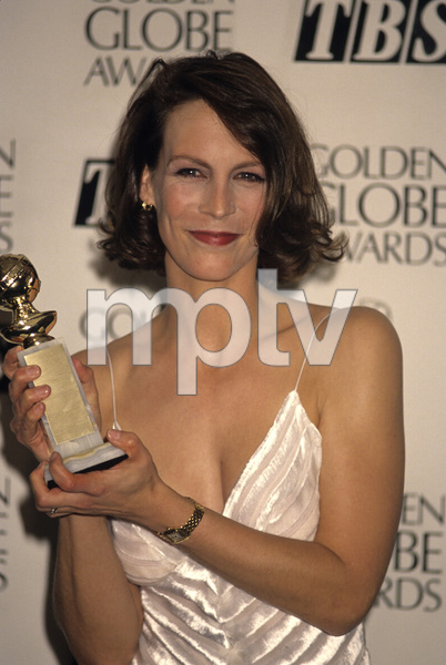 Jamie Lee Curtis at the Golden Globes1995© 1995 Gary Lewis - Image 24300_0478