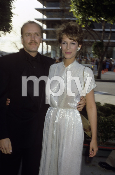 Jamie Lee Curtis and J. Michael Rivacirca 1980s© 1980 Gary Lewis - Image 24300_0479