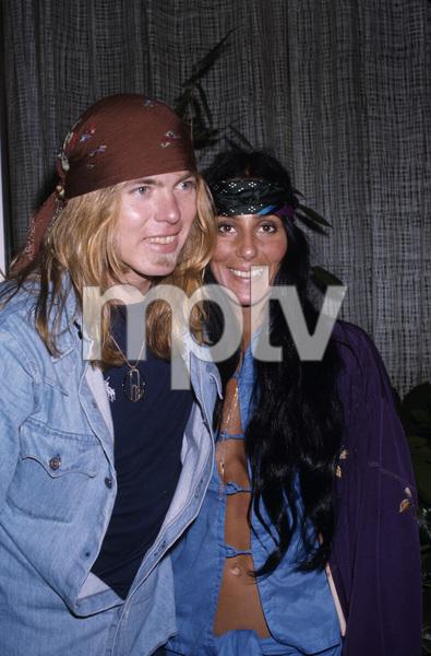 Cher and Gregg Allmancirca 1970s© 1978 Gary Lewis - Image 24300_0487