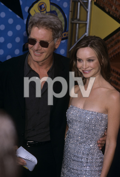 Harrison Ford and Calista Flockhart at the MTV Movie Awards at The Shrine Auditorium, Los Angeles, CA2003© 2003 Gary Lewis - Image 24300_0490