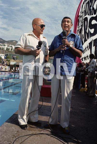 Telly Savalas and Howard Cosellcirca 1970s© 1978 Gary Lewis - Image 24300_0518