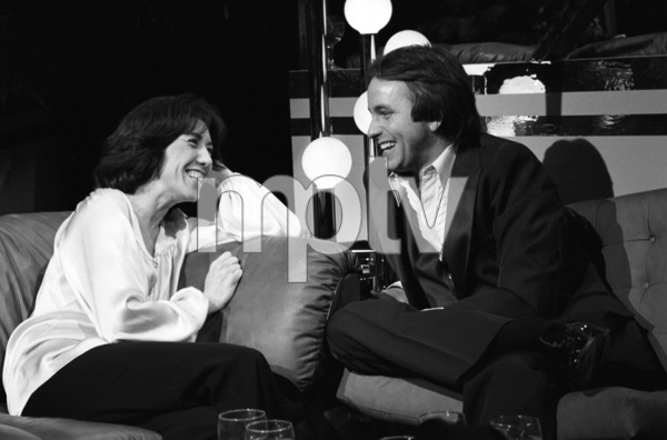 Lily Tomlin and John Rittercirca 1970s© 1978 Gary Lewis - Image 24300_0596