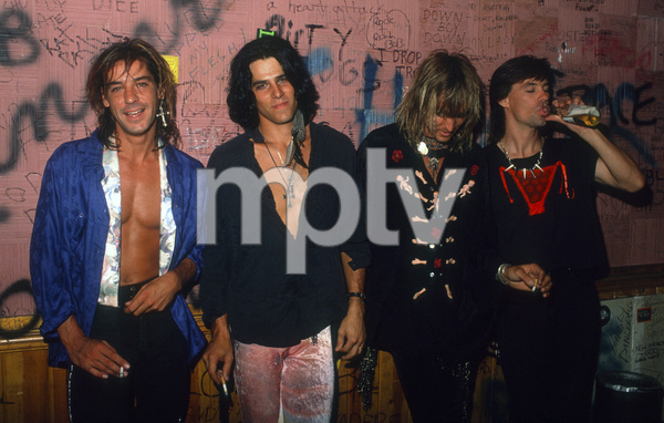 Ten Inch Men (Danny Keough, Mark Templin, Steve Coutts and Dave Coutts) at Club Lingerie in Hollywoodcirca 1990© 1990 Gary Lewis - Image 24300_0655