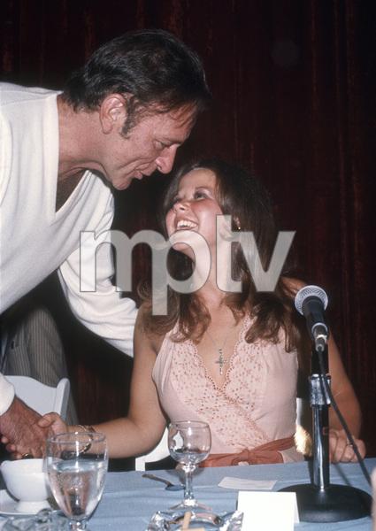Richard Burton and Linda Blaircirca 1977© 1978 Gary Lewis - Image 24300_0671