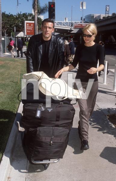 Ben Affleck and Gwyneth Paltrow at LAXcirca 1998© 1998 Gary Lewis - Image 24300_0791