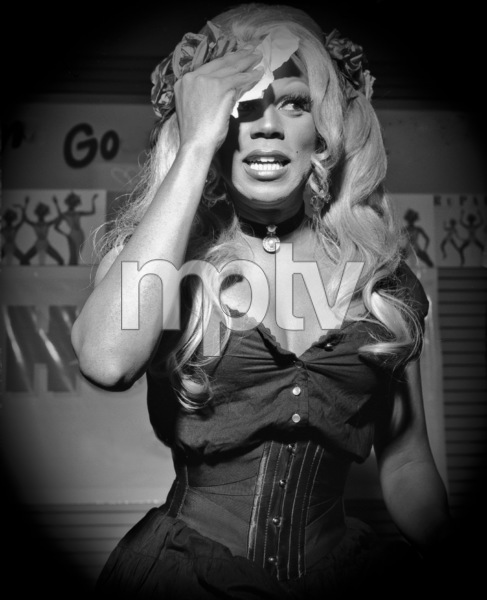 RuPaul photographed at Tower Records in New York City1993© 1993 Ken Shung - Image 24302_0036
