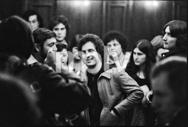 Billy Joel photographed backstage at Nassau Colliseum, in Long Island, New York 1979© 1979 Ken Shung - Image 24302_0046