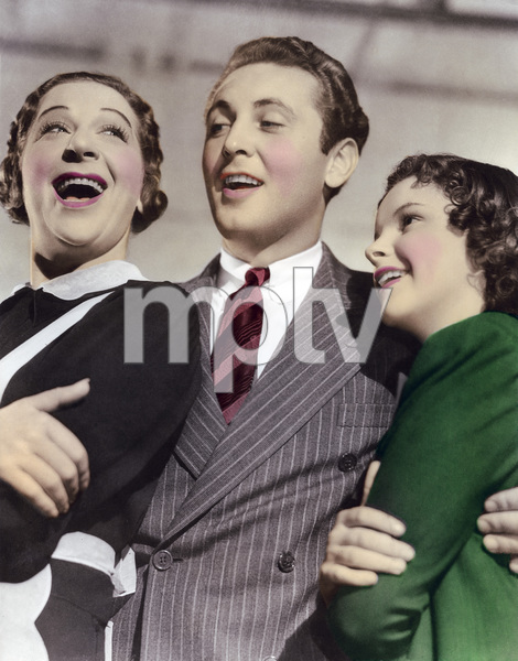 "Fanny Brice, Allan Jones and Judy Garland in ""Everybody Sing""1938 MGM** I.V. - Image 24322_0066"