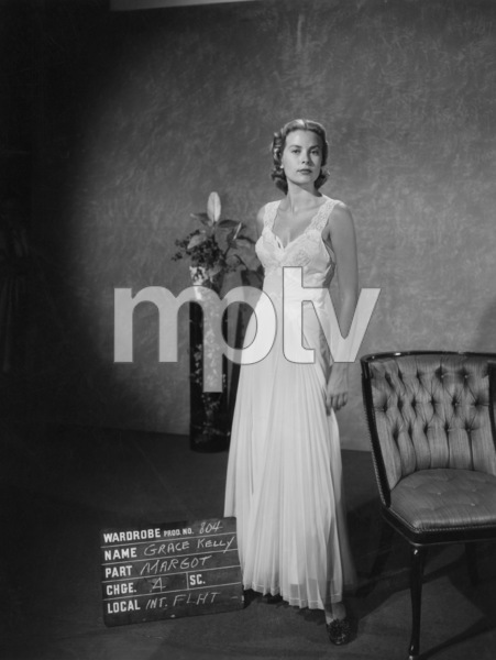 "Grace Kelly wardrobe test for ""Dial M for Murder""1954** I.V. - Image 24322_0080"