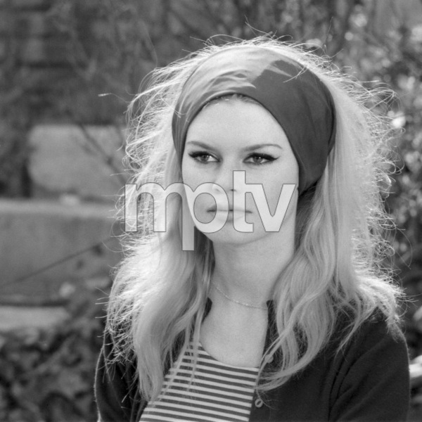 """Brigitte Bardot in """"Contempt""""1963** I.V. - Image 24322_0128"""