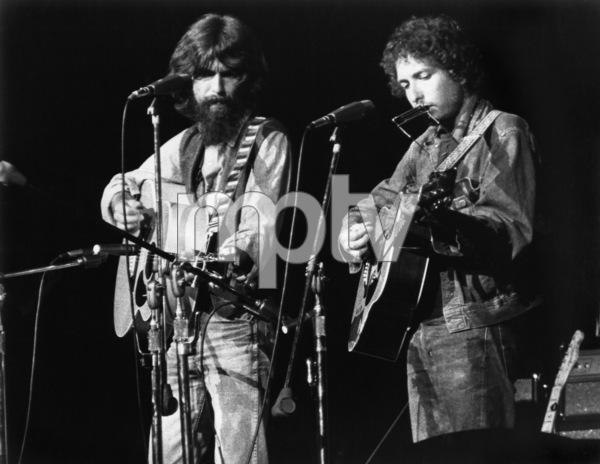 George Harrison and Bob Dylancirca 1970** I.V.M. - Image 24322_0195