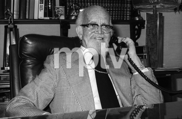 Berry Gordy Sr. at Motown Records Recording Studios in Hollywoodcirca mid 1970s© 1978 Bobby Holland - Image 24331_0042