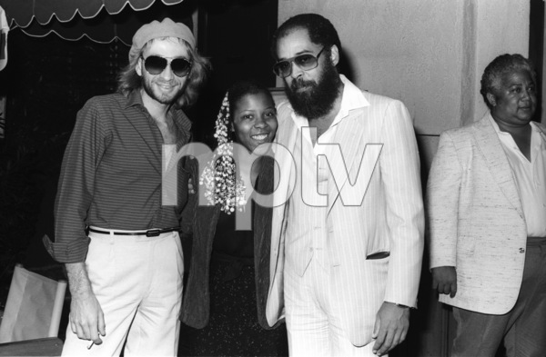 Bobby Caldwell, Patrice Rushen, David T. Walker and Wally Roker at Conway Recording Studios in Los Angelescirca 1980s© 1980 Bobby Holland - Image 24331_0111